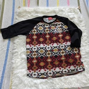 Asphalt Baseball Tee Shirt XXL